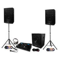 Ibiza Sound - Pack 2 Hp disco 12 + caisson + platine scratch-200