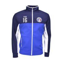 Ralph Lauren - Veste zippée France bleu pour homme