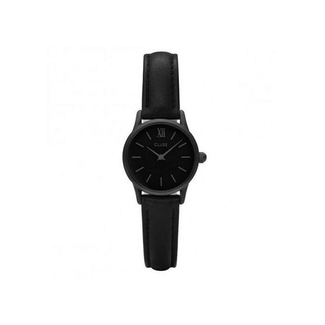 cluse montre femme noir cl50015 cadeau id al achat vente montre analogique pas ch re. Black Bedroom Furniture Sets. Home Design Ideas