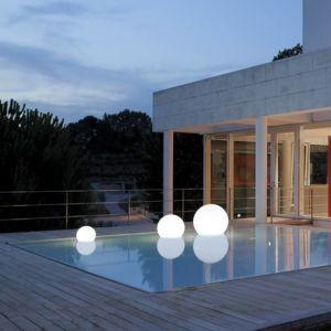 Slide - Acquaglobo - Lampe flottante d'extérieur Ø60cm - Luminaire d'extérieur designé par