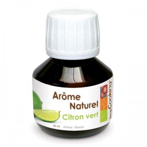 Scrapcooking Arôme naturel Citron vert 50 ml