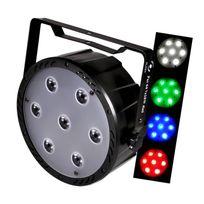 Flash - Jeu de lumière Led Par Aura 64 Rgbw 7x10W 4en1 Dmx F7100307