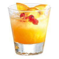Durobor - Verre à cocktail en verre transparent bosselé - Set de 6 Helsinki - 33cl
