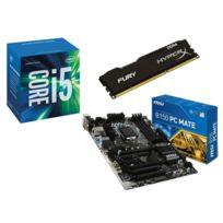 RUE DU COMMERCE - Kit EVO INTEL Upgrade III - INTEL Core i5-6600 - MSI B150 PC MATE - 8 Go DDR4 KINGSTON