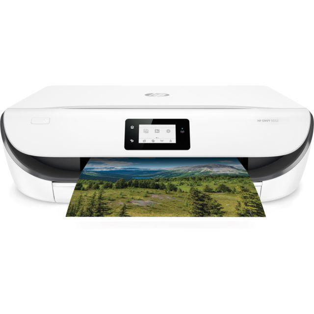 HP Imprimante tout-en-un ENVY 5032 - M2U94B, BHC- Blanc
