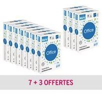 Rey - Pack 10 + 3 Ramettes papier Office A4, 80 g - Extrablanc