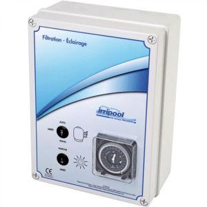 irripool coffret lectrique filtration 1 projecteur - Coffret Electrique Piscine Pas Cher