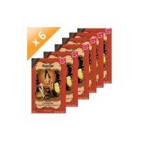 Tous - Lot de 6 Henné Chatain Henné Color - 100gr poudre