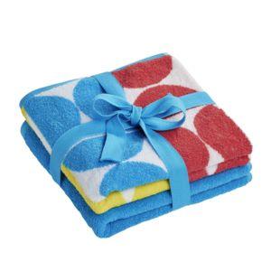 tex home lot de 2 serviettes berlin en coton turquoise 90cm x 50cm pas cher achat vente. Black Bedroom Furniture Sets. Home Design Ideas