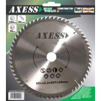 Axess - Lame de scie - 254mm - 60 dents