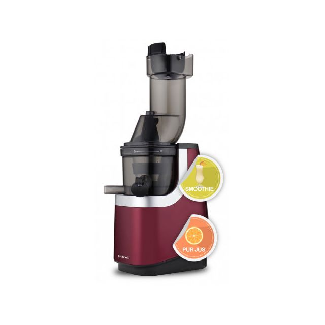 E-ZICHEF Robot Extracteur de Jus VITAMIN XL Smoothie Robot Extracteur de Jus VITAMIN XL Smoothie - 45 tpm - Goulot de 80 mm - Très silencieux