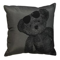 L3C - Coussin 40x40 Lulu Bear Anthracite