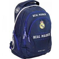 Real Madrid - Sac à dos Blue 45 Cm Haut de Gamme - 2 Cpt