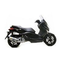 Leovince - Silencieux Lv One Homologue Evo Ii Position Origine - Inox - Xmax 250 Yamaha - Xmax 250 2006/2011
