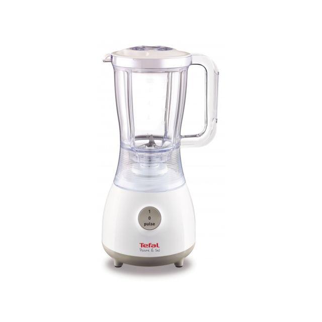 TEFAL Blender Poivre et Sel - BL220111 - Blanc