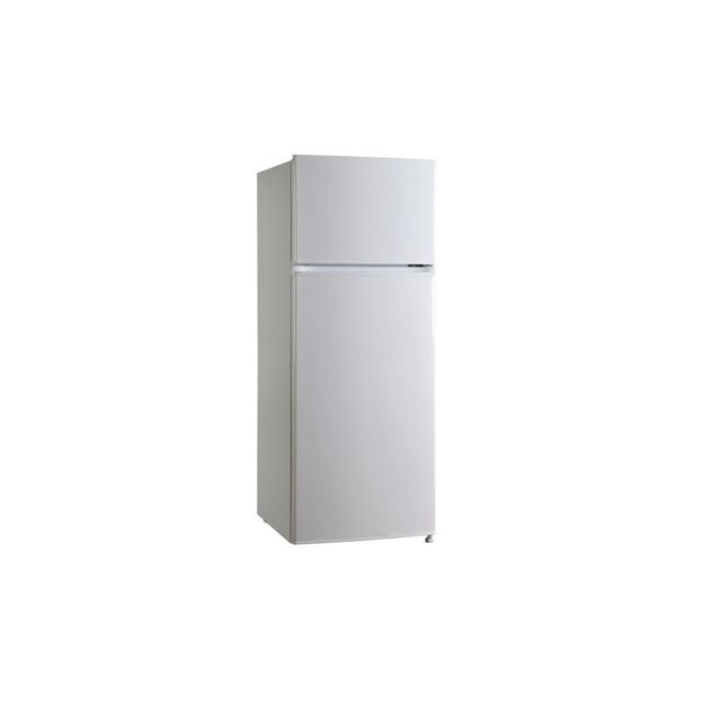 oceanic f2d207w refrigerateur congelateur haut 207 l 166 41 l froid statique a l 55. Black Bedroom Furniture Sets. Home Design Ideas