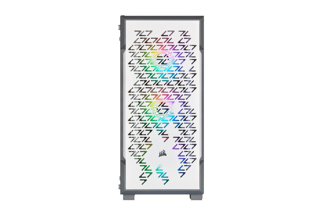 Boîtier PC Gamer iCue 220T RGB Corsair Blanc
