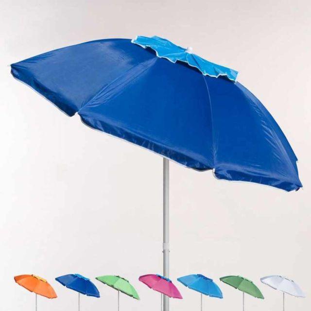 Beachline - Parasol de plage 200 cm aluminium antive - pas cher ... 21d0184db8b