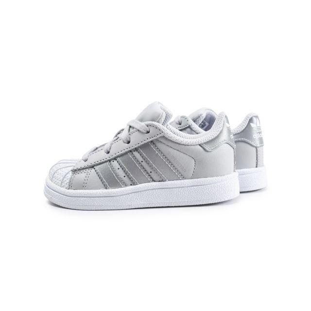 Adidas Basket Super star bz0418 bébé Noir à prix pas cher