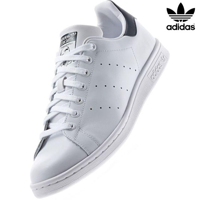 Adidas originals Stan Smith M20325 Blanc Bleu Navystan