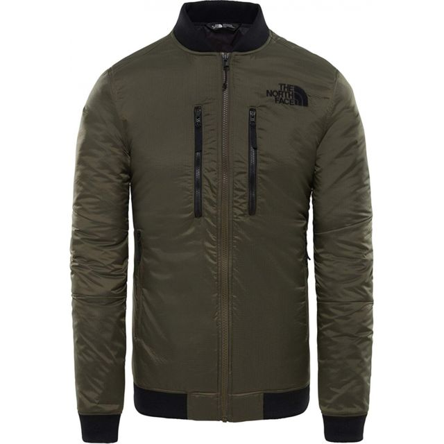 15b115a167 THE NORTH FACE - Veste Himalayan Light Bomber Taupe Green - pas cher Achat  / Vente Blouson homme - RueDuCommerce
