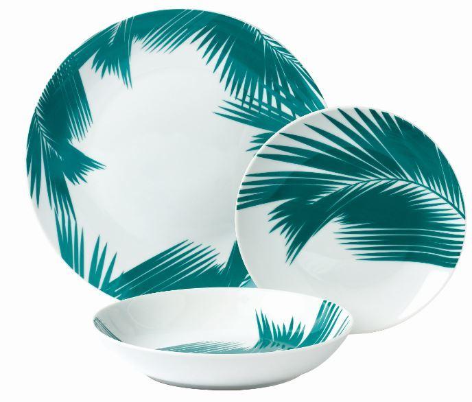 RUE DU COMMERCE - Service à vaisselle 18 pièces Havane - pas cher ... 8b8955978f9a
