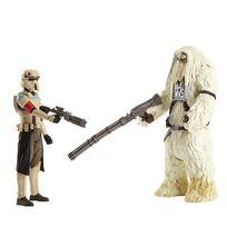 Star Wars - Star Wars Pack deluxe 2 figurines Moroff & Scarif Stormtrooper
