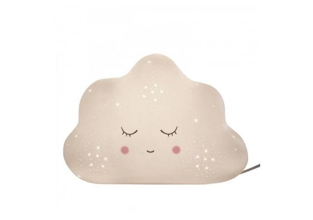 Declikdeco - Lampe A Poser En Ceramique Nuage H17.5 Macouma