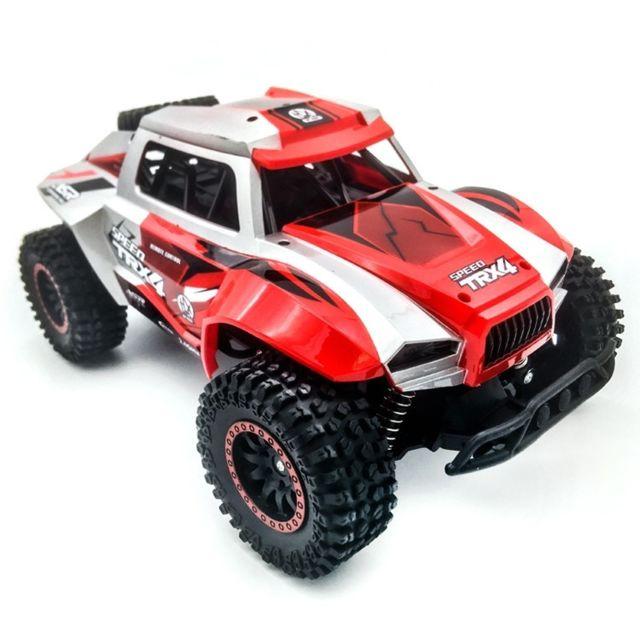 Wewoo Voiture radiocommandée 608 2,4 Ghz haute vitesse électrique télécommande jouet tout-terrain véhicule rouge