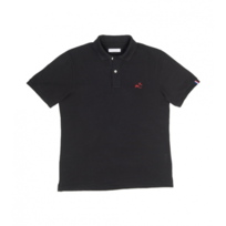 Comptoir Tricolore - Polo Le Saint Germain - Polo homme Noir-Made in France