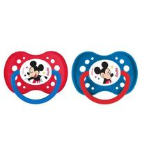 Dodie - Mickey Sucette Anatomique +18 Mois Duo A65