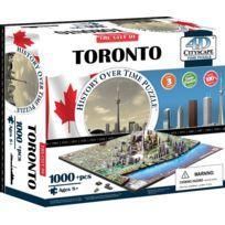 4D CITYSCAPE - Puzzle 4D 1100 Pieces : Ville De Toroto DC Cityscape Time - Puzzle Canada