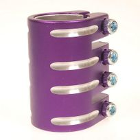 Blazer Pro - Collier de serrage trottinette Collier 4 vis shim violet Violet 10811
