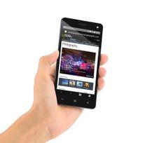 Auto-hightech - Téléphone Smartphone 5 pouces, Android 5.1, Bluetooth 4.0, Capteur de mouvement, Réveil intelligent, Double sim