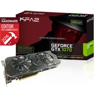 KFA2 - GeForce GTX 1070 EX 8Go DDR5 256 bit DP 3/HDMI/DVI-D