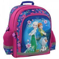 Frozen - Sac à dos scolaire école enfant fille cartable Reine des neiges - Disney