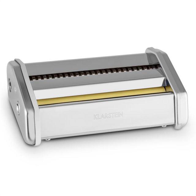 KLARSTEIN Siena Pasta Maker Accessoire pâtes acier 3mm & 45mm