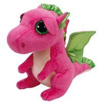 TY - Peluche Beanie Boo's Medium Darla le Dragon