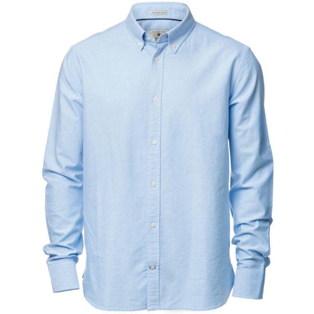 Nimbus Rochester - Chemise formelle à manches longues - Homme XL, Bleu clair Utrw3633