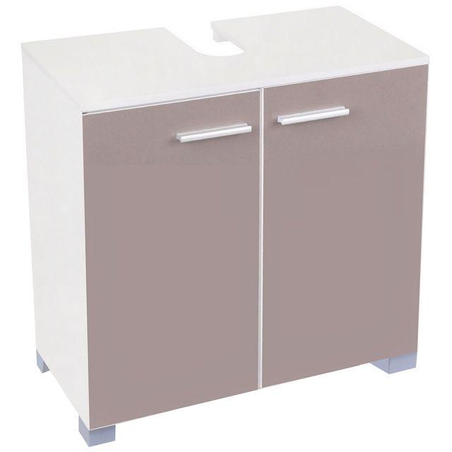 Promobo meuble de salle de bain sous vasque evier lavabo - Meuble salle de bain avec lavabo ...