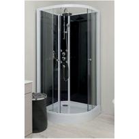 cabine de douche montage sans silicone