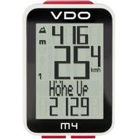 Vdo - M4 Wl - Compteur sans fil - blanc/noir
