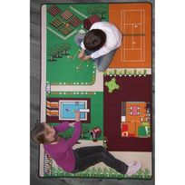 Tapitom - Le Jardin Tapis de jeu par - Couleur - Multicolor, Taille - 130 x 200 cm