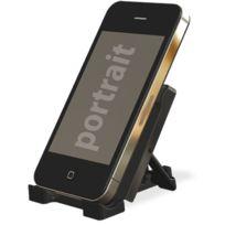 Cabling - mini noir universelle Support portable pliante bureau pour Smartphones, iPhone, lecteur mp3