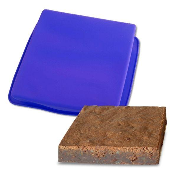 Totalcadeau Moule silicone carrée pour cake
