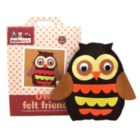 ToyCentre - Makemee Woodland Friends - Meep3 - Peluche - Owl