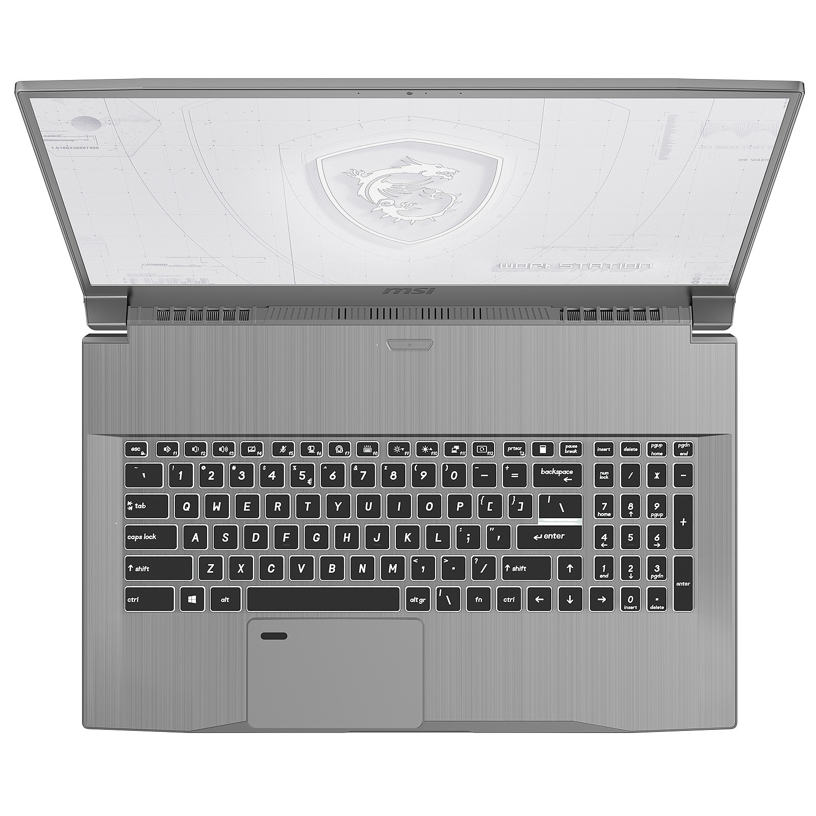 Work Station WF75-10TK-244FR - Gris