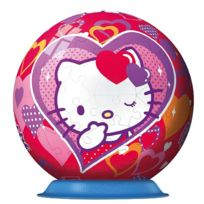 Ravensburger - Puzzle ball 108 pièces - Hello Kitty