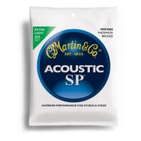 Martin - Jeu de cordes Guitare acoustique 4000 Phosphor Bronze Extra Light