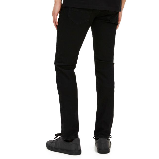 CELIO JEAN AFOWOIR Noir Jean en denim super stretch 5 poches, coupe slim